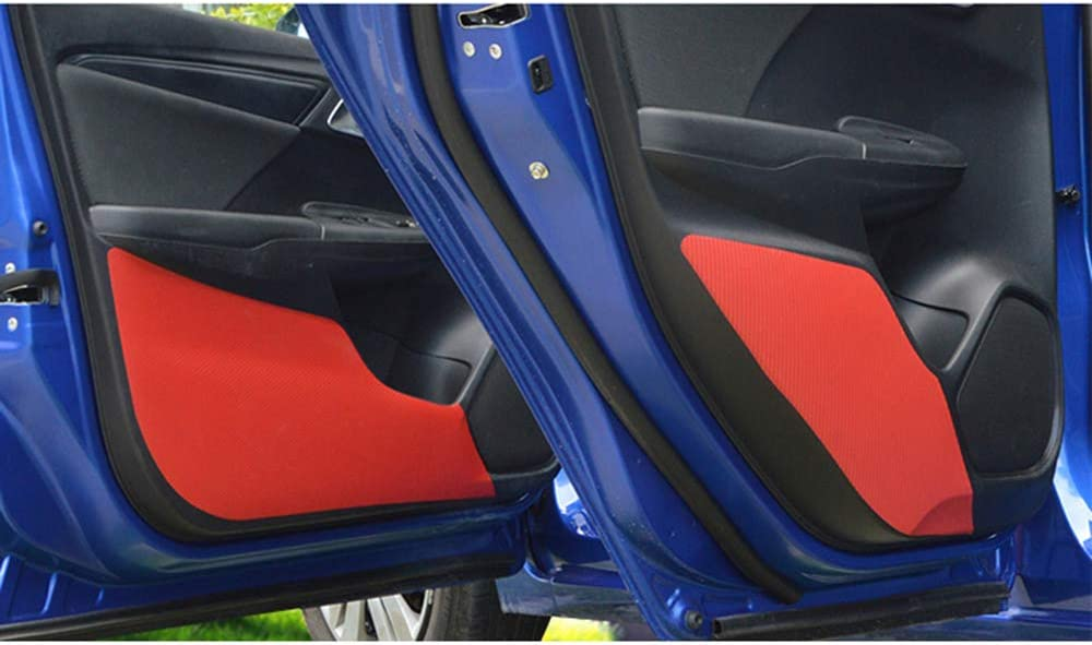 LUVCARPB Car Door Carbon Fiber Over item Austin Mall handling ☆ Sticker Pad Doo Anti-Kick