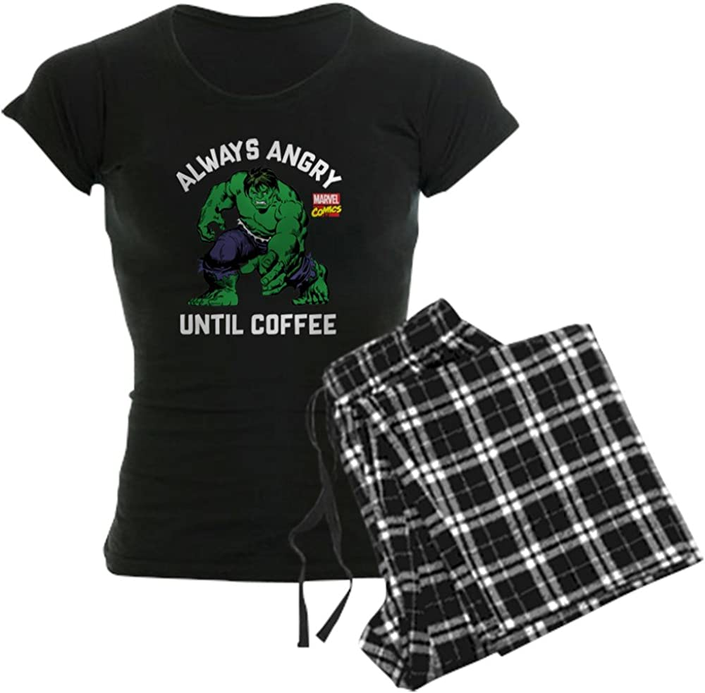 CafePress Hulk Angry Coffee PJs SEAL limited product Women's Cheap mail order specialty store