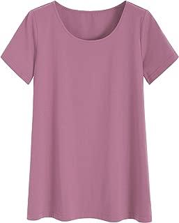 Latuza Women's Plus Size Tunic Top Long T-Shirt for Leggings