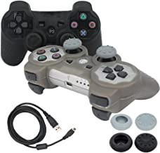 BlueLoong PS3 Controller Wireless Double Shock 2 Pack