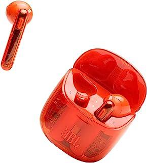 JBL Tune 225 TWS Lifestyle Bluetooth Kopfhörer in Ghost Orange – Kabellose Sport Ohrhörer für bis zu 5 Stunden Musikgenuss mit nur einer Akku Ladung – Inkl. Ladecase