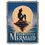 Disney's The Little Mermaid, 'Poster' Woven Tapestry Throw Blanket, 48' x 60', Multi Color