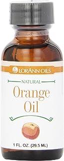 LorAnn Natural Flavoring Oils, Natural Orange Oil, 1 oz Bottle