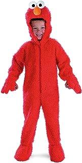 Elmo Deluxe Plush Toddler Costume - Toddler Medium