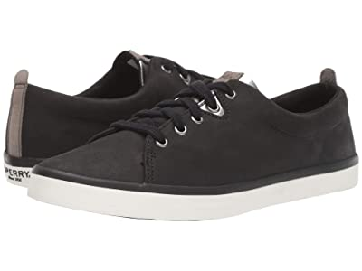 Sperry Sailor Lace To Toe Leather (Black) Women