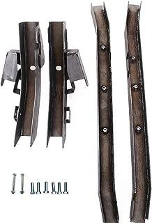 Lonwin Rear Trail Arm Skid Center Frame Rust Repair Kit Fit for 1997-2006 Jeep Wrangler TJ