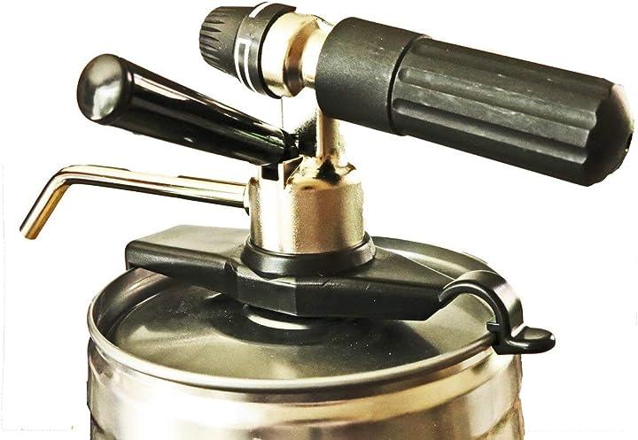 Spillatore a co2 regolabile finitura in metallo zack 20604 aireacon B00B2L5V00