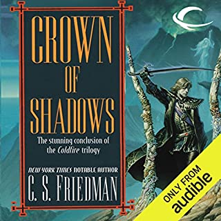 Crown of Shadows audiobook cover art