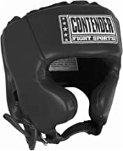Contender Fight Sports Competition Boxing Muay Thai MMA Sparring Head Protection Headgear with Cheeks
