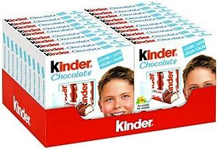 Kinder Chocolate - Milk Chocolate with Creamy Milk Filling - Case 20 x 50g