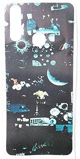 جلد خلفي من ألياف الكربون ، مطبوع بالليزر مطفي وناعم ، سهل التركيب فيفو Y12 - 2725610023888