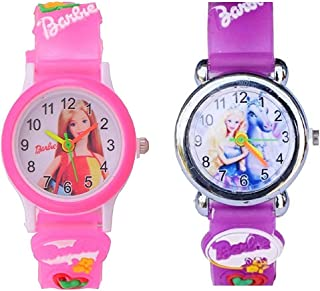 Swadesi Stuff Analogue Multi Color Dial Kids Watches for Boys and Girls - Combo of 2 Watches