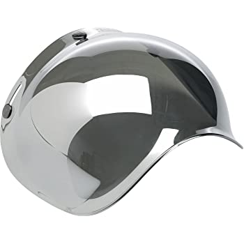 Clear, One Size BV-CLR-00-SD Biltwell Solid Bubble Shield