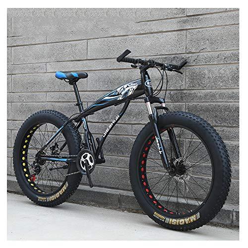 Nengge Mountainbike voor volwassenen, voor jongens, meisjes, mountainbike, dubbele schijfrem, stalen frame met hoog koolstofgehalte
