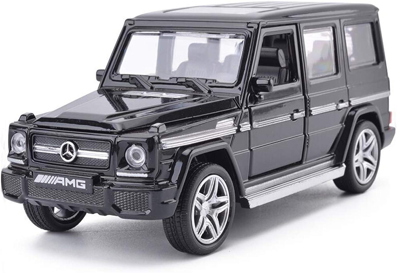 GXL Simulation Alloy Toy car Model Static car Model Gift Model Jewelry MercedesBenz car Model 1 32 ( color   Black )
