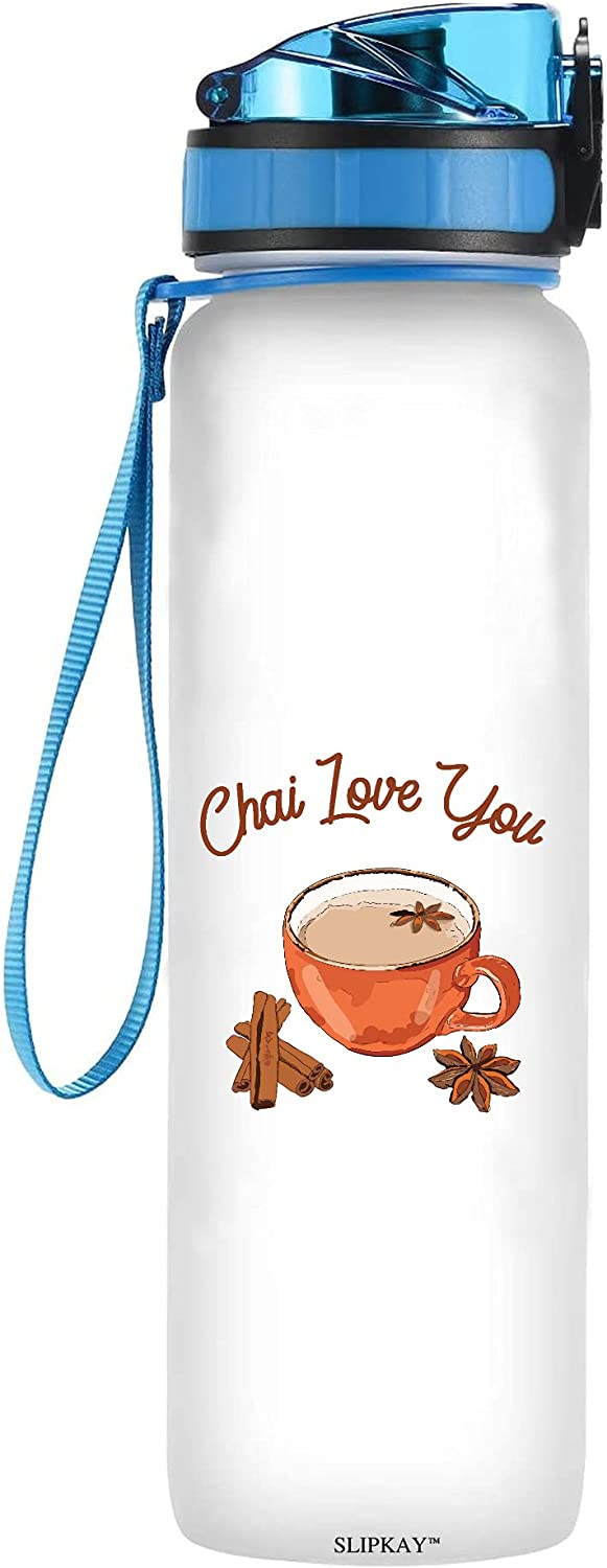 Food Max 55% OFF Pun Chai Love You Tea Tracker Free shipping on posting reviews Water Bottle