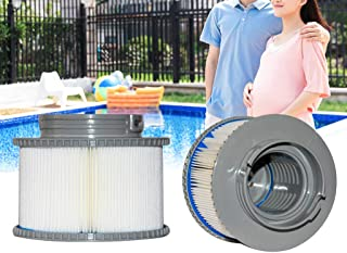 ❤Ywoow❤ 🍀 Lnflatable Swimming Pool Filter Cartridge Strainer Replacement for MSPA FD2089