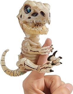 WowWee Untamed Skeleton Raptor by Fingerlings - Gloom (Sand) - Interactive Collectible Dinosaur