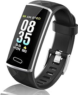comprar comparacion LOZAYI Pulsera de Actividad, Pulsera Actividad Inteligente, IP67, Reloj Inteligente para Mujer y Hombre, con Pulsómetro, B...
