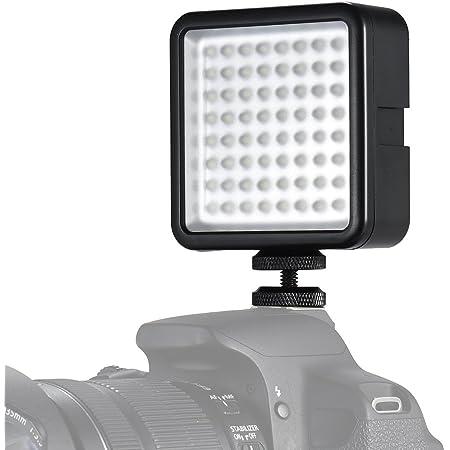 Andoer Videoleuchte 64 Led Usb Dauerlicht Dimmbar Kamera