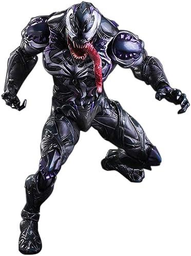 XITER TOY Venom Spiderhomme Marvel, Figurine Venom Action 10 '' Legends Amazing, Cadeau de Collection, Finition sophistiquée   PVC XT