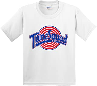 New Way 487 - Youth T-Shirt Tune Squad Space Jam Basketball Team