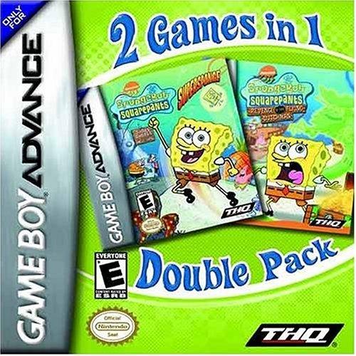 Spongebob Squarepants Supersponge and Battle for Bikini Bottom Dual Pack (GBA) [Importación Inglesa]
