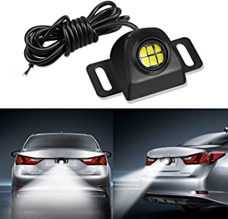 Auxiliary Reverse Light Bulb,LEADTOPS Mini Universal Anti-collision Back up Parking LED Light Lamp Waterproof, Backup camera Illumination for Make Up 1156 1157 7443 3056 3156 3157 LED Lamps Functions