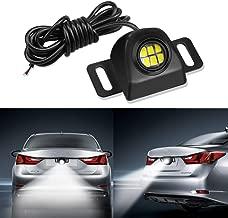Auxiliary Back Up Parking Reverse Light LED Bulb,LEADTOPS Mini Universal Anti-collision Night Performance LED Tail Light camera Illumination 6000K White for Car Automotive
