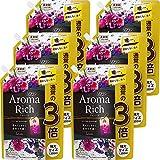 【ケース販売 大容量】ソフラン アロマリッチ ジュリエット(スイートフローラルアロマの香り) 柔軟剤 詰め替え 特大1200ml×6個セット