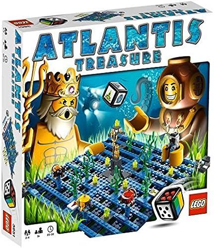 mejor opcion LEGO Juegos - El El El tesoro de Atlantis [versión en inglés]  autorización oficial