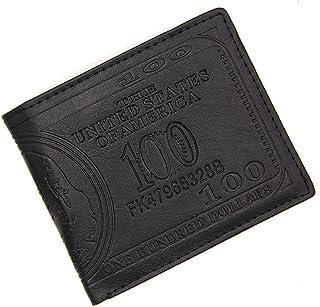 BeniNew men's wallet short wrap-black