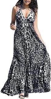 e229ce94a9a Amazon.fr   robe longue boheme - Gris   Robes   Femme   Vêtements