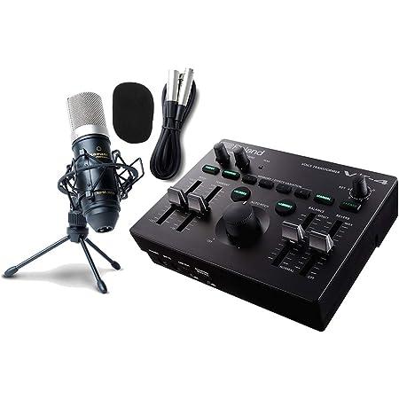 Roland ローランド/VT-4【コンデンサーマイクセット!】Voice Transformer AIRA (VT4) -Vtuberで神機と謳われるボイスチェンジャー!