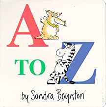 A to Z (Boynton Board Books (Simon & Schuster))