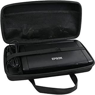 Hermitshell Hard EVA Travel Case Fits Epson Workforce WF-100 Wireless Mobile Printer