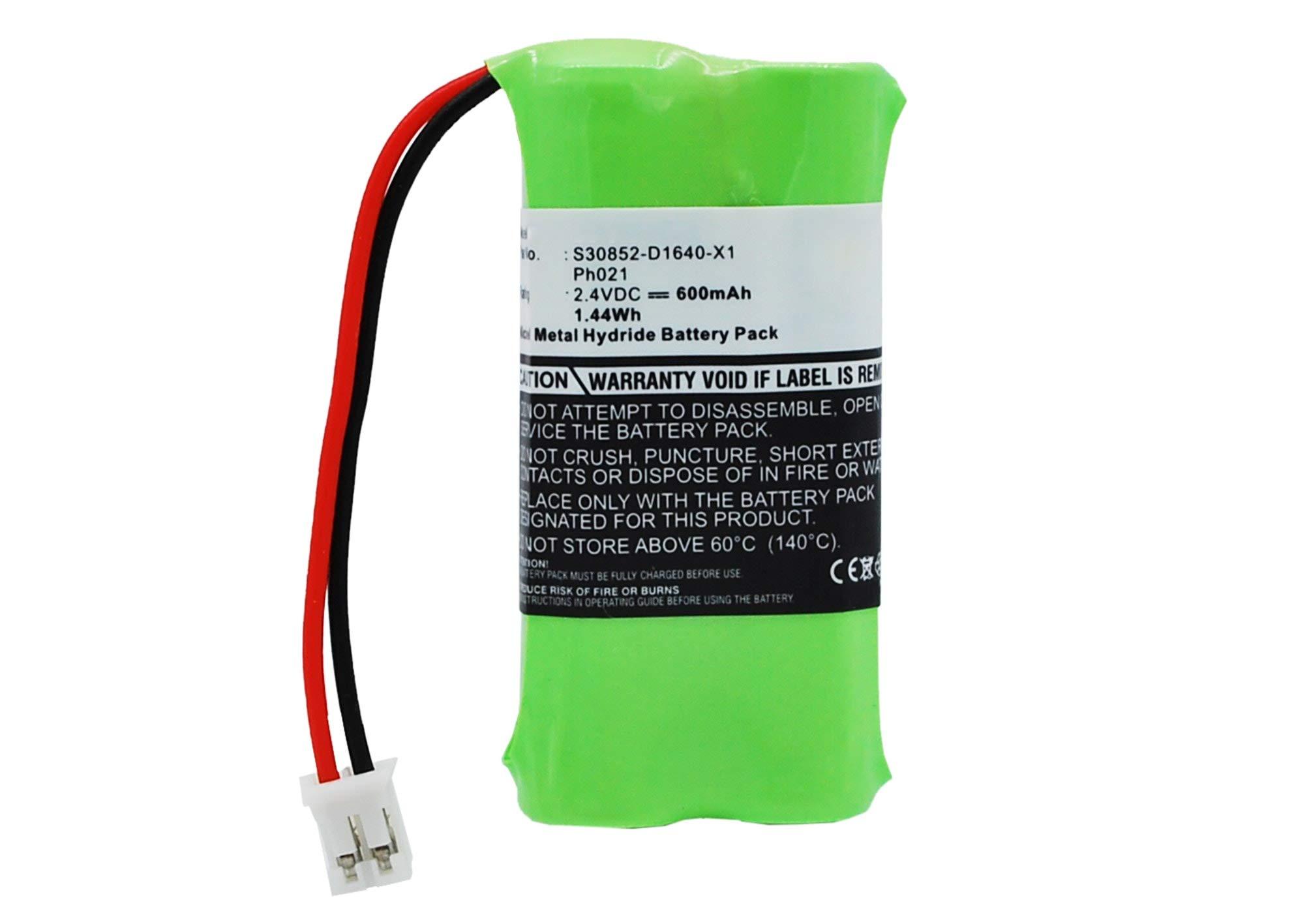 subtel® Batería Premium Compatible con Siemens Gigaset 140 (600mAh) bateria de Repuesto, Pila reemplazo, sustitución: Amazon.es: Electrónica