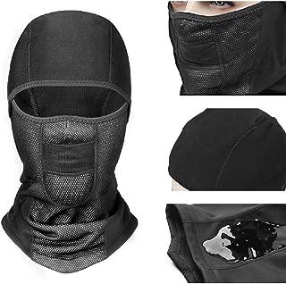 Fanshu Balaclava Full Face Mask,  Cycling Winter Cap Fleece Warm Full Face Cover Anti-dust Waterproof Windproof Shield Hat Neck Helmet Skiing Mask for Motorcycle Outdoor Sports
