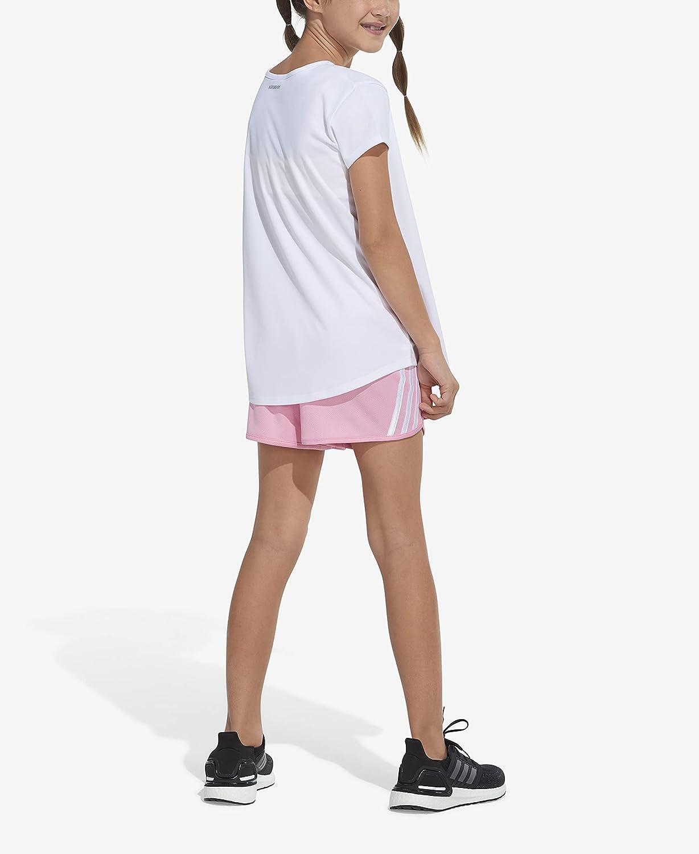 adidas Girls Stripe Mesh Shorts