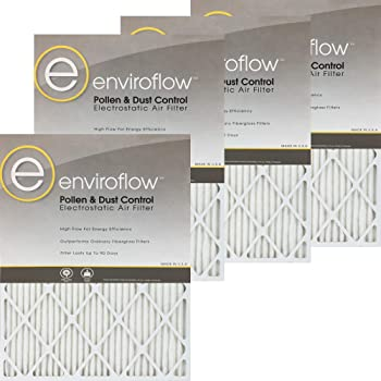 Nordic Pure 14x18x1 MERV 11 Pleated AC Furnace Air Filters 4 Pack