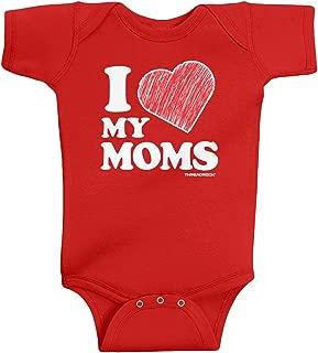 Baby Boys' I Love My Moms Infant Bodysuit