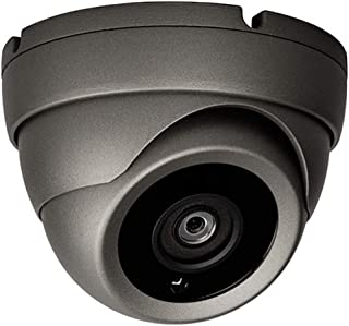 Sinis Super Hybrid 5MP 4MP 1080P HD-TVI/CVI/AHD/960H CCTV Surveillance Security Camera Day Night Vision Waterproof Outdoor/Indoor Wide Angle 2.8mm Fixed Lens Reach 90° Metal Dome Video System