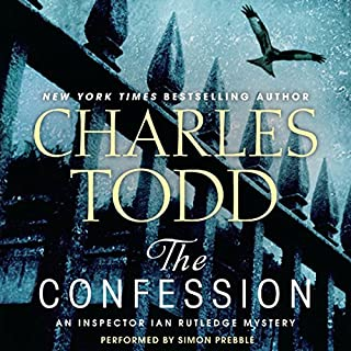 The Confession: An Inspector Ian Rutledge Mystery audiobook cover art