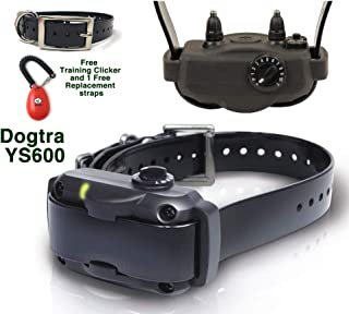 Dogtra High-Powered Bark Collar ys-600 with Free Strap and Training clicker