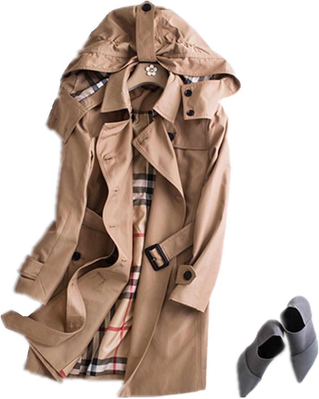 Bobbycool Ladies Hooded Windbreaker Jacket