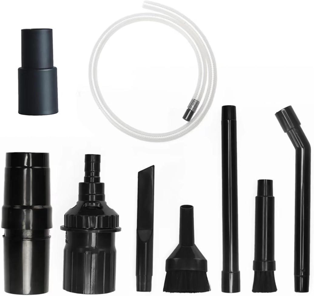 ANBOO 1-1/4inch & 1-3/8'' Vacuum Attachments Mini Micro Tool Attachment 8 Piece Set -