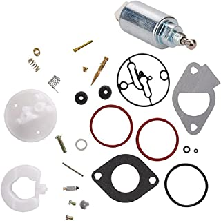 ouyfilters New carbure Tor Fuel Solenoid with 796184 698787 carbure Tor over Haul Kit for Briggs & Stratton Motores Replac...