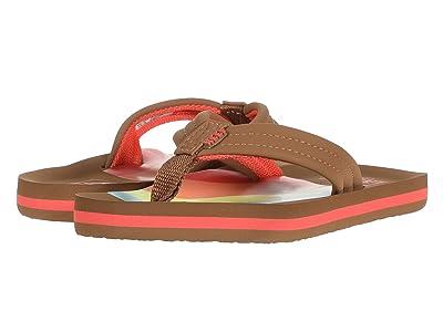 Reef Kids Ahi (Little Kid/Big Kid) (Rainbow) Girls Shoes