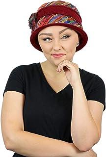 Women's Hat Fleece Cloche Cancer Headwear Chemo Ladies Winter Head Coverings Abby