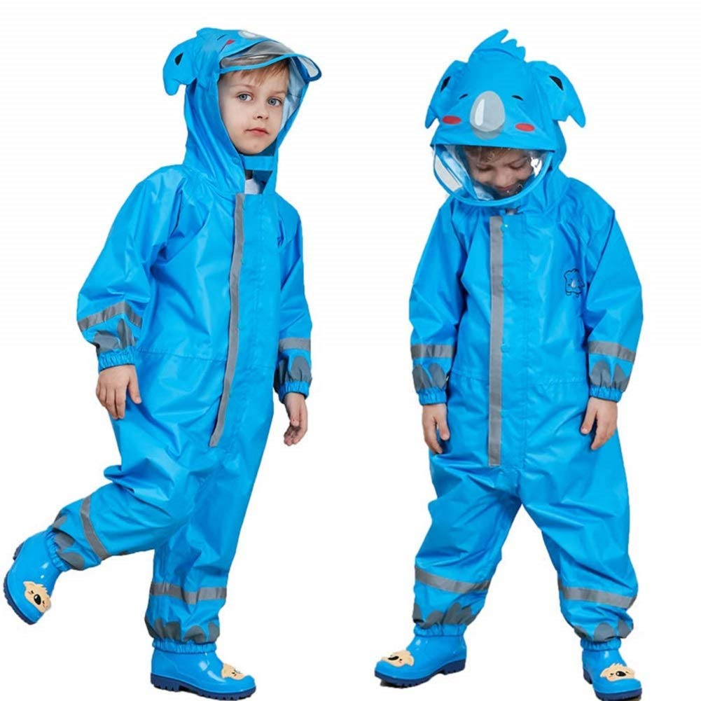 Colorful Patterned Reusable Washable Protective Suit,Girl Boy Coverall Waterproof Breathable Children Overall Designer Kids Funny Coverall